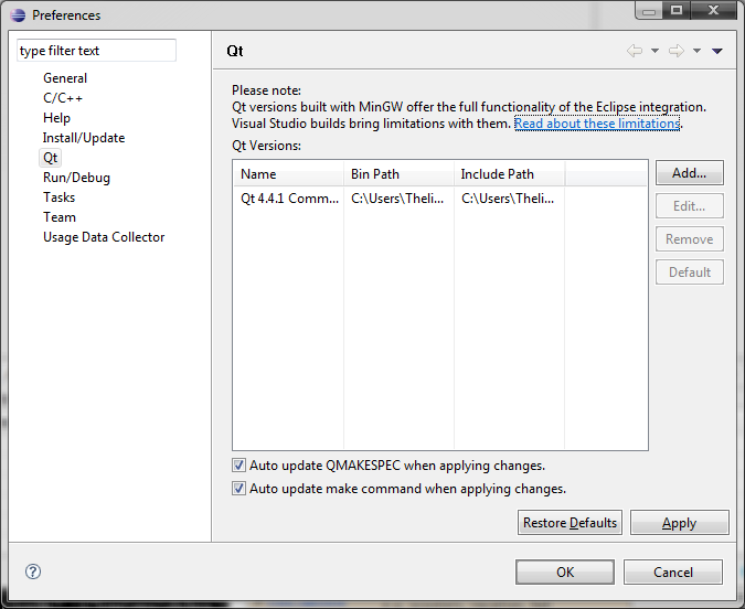 Life of a Developer: Commercial Qt on Vista using MinGW